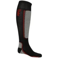 Fox River VVS® MV Ski Socks - Merino Wool Blend, Over the Calf (For Men and Women) in Black/Grey - Closeouts