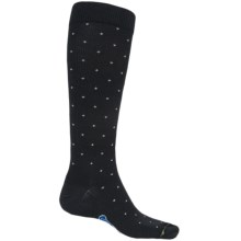 Fox River Walk Forever Dot Socks - Over the Calf (For Men) in Black - Closeouts