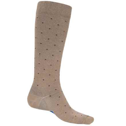 Fox River Walk Forever Dot Socks - Over the Calf (For Men) in Khaki - Closeouts