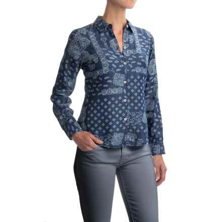 Foxcroft Addison Shirt - TENCEL®, Long Sleeve (For Women) in Bandana Paisley - Closeouts