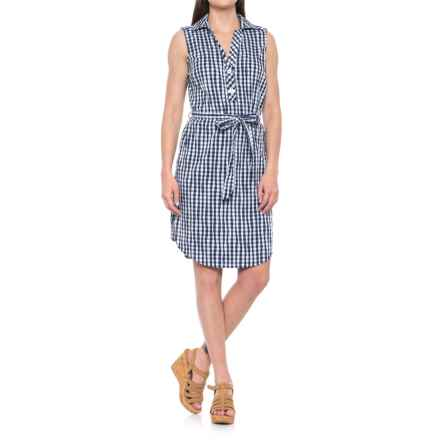Foxcroft Adele Dress - Sleeveless (For Women) in Navy - Overstock