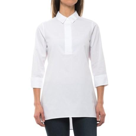 Foxcroft Bre Stretch Non-Iron Tunic Shirt - Long Sleeve (For Women)