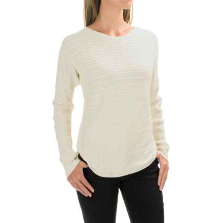 Foxcroft Cable-Knit Sweater (For Women) in Winter White - Closeouts