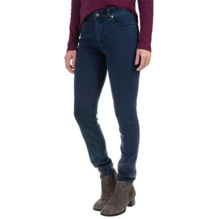 Foxcroft Classic Stretch Jeans - Straight Leg (For Women) in Dark Indigo - Closeouts