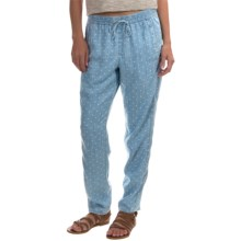 Foxcroft Dot Pants - TENCEL® (For Women) in Bluewash - Overstock