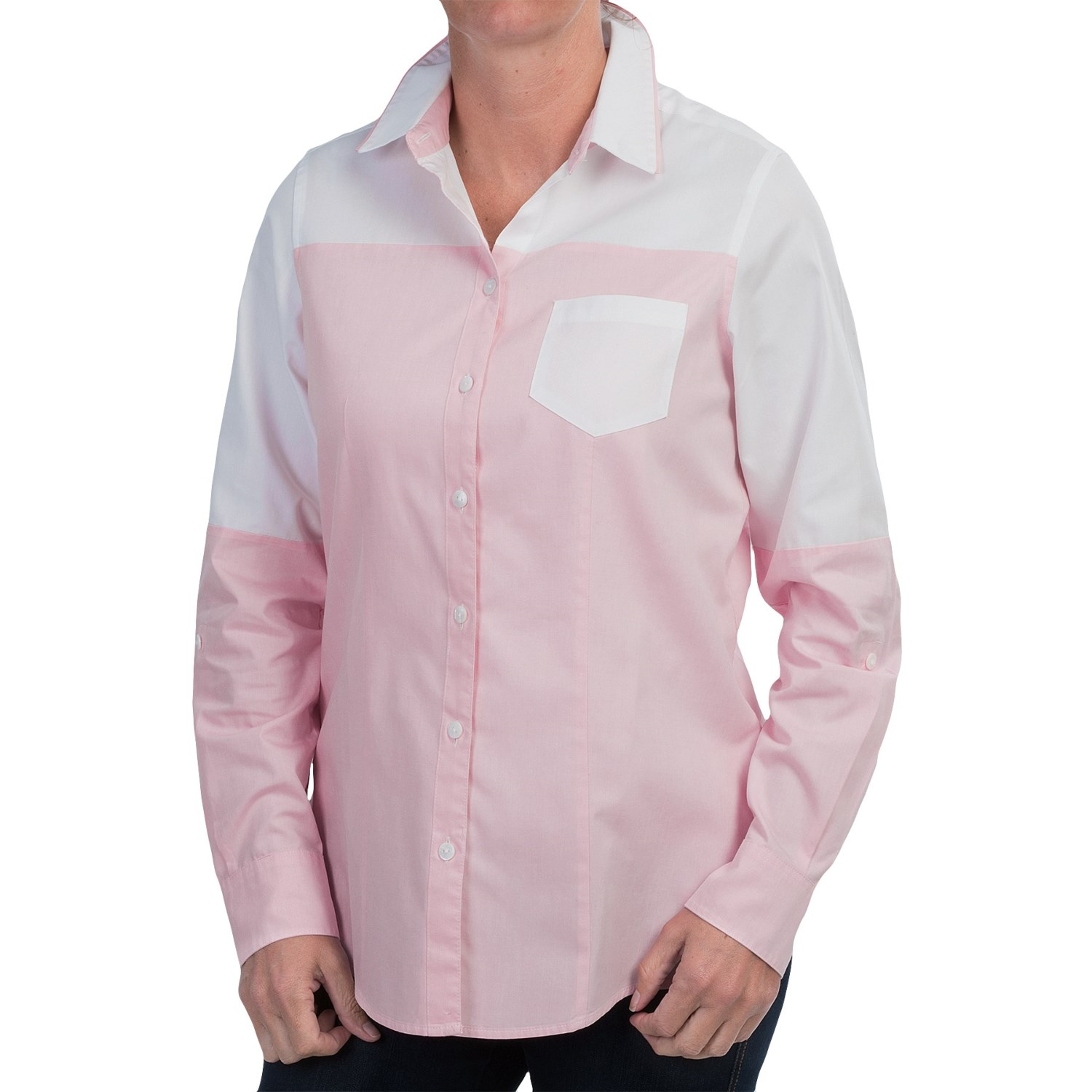 Foxcroft Fitted Button Down Shirt For Women 9463r Save 75