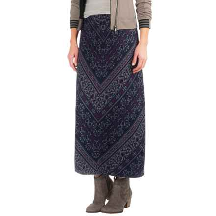 Foxcroft Jacquard Skirt (For Women) in Diagonal Multi - Closeouts