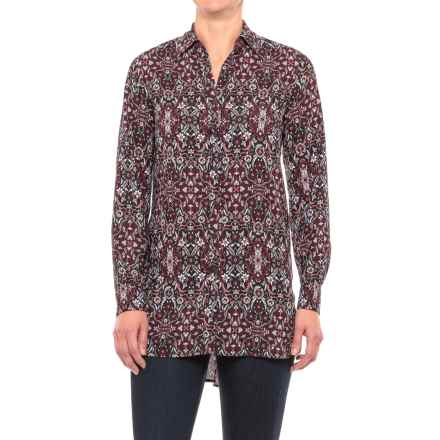 Foxcroft Jade Heirloom Paisley Tunic Shirt - Long Sleeve (For Women) in Multi Paisley - Closeouts