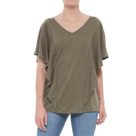 Foxcroft Kendall Knit Shirt - Short Sleeve (For Women) in Olive - Overstock