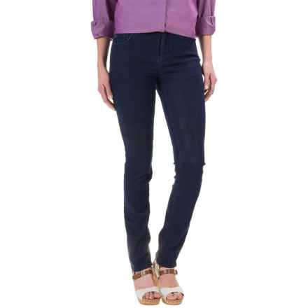 Foxcroft Marni Denim Jeans - Straight Leg (For Women) in Dark Rinse - Closeouts