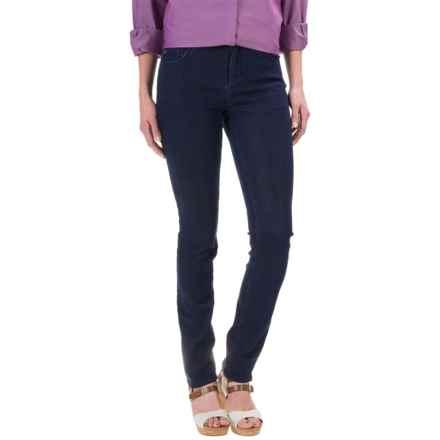 Foxcroft Marni Denim Jeans - Straight Leg (For Women) in Dark Rinse - Closeouts