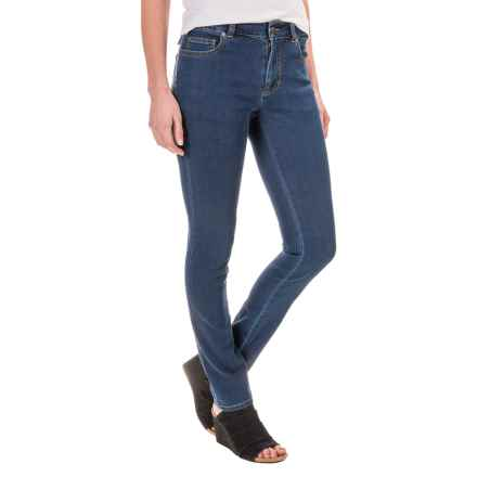 Foxcroft Marni Denim Jeans - Straight Leg (For Women) in Medium Indigo - Closeouts