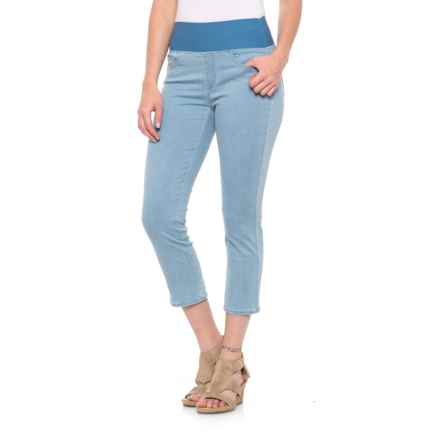Foxcroft Nina Capris (For Women) in Summer Wash - Overstock