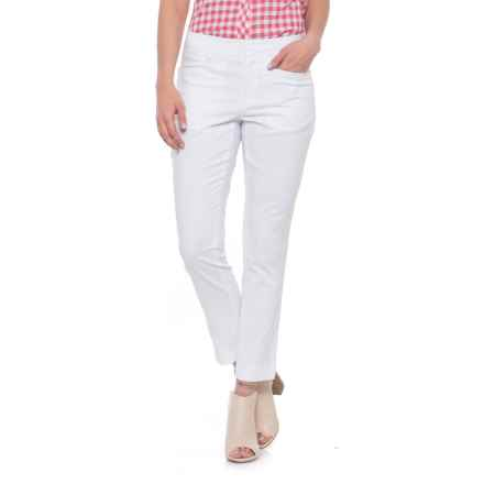 Foxcroft Rachel Ankle Pants (For Women) in White - Overstock