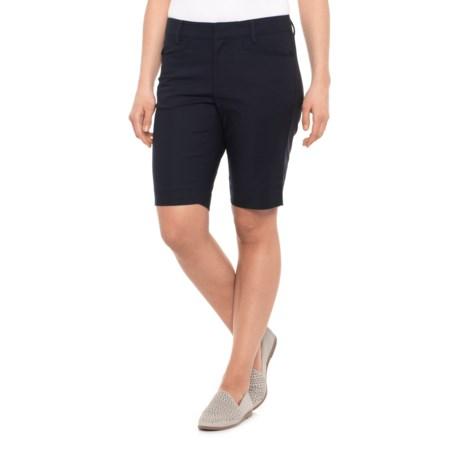 Foxcroft Rachel Everyday Bermuda Shorts (For Women) in Navy