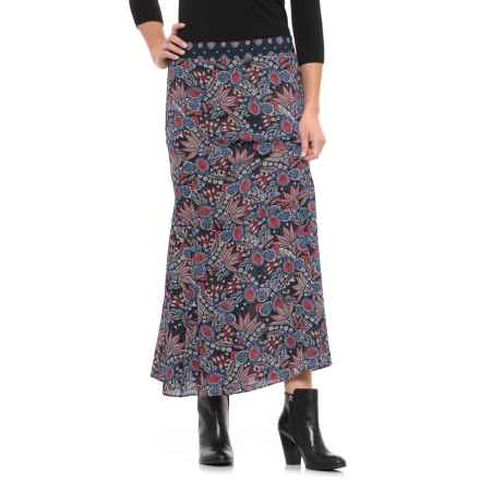 Foxcroft Sienna Skirt (For Women) in Navy Multi - Closeouts