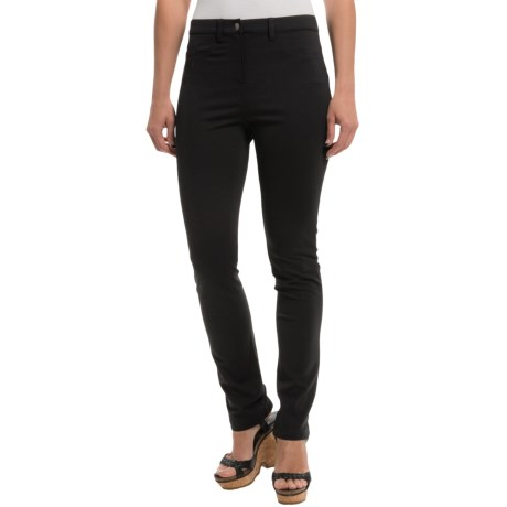 Foxcroft Techno Pants Rayon Nylon (For Women)