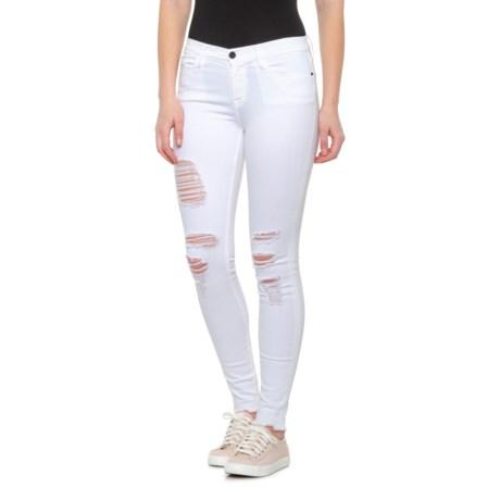 Frame Denim Le Skinny Distressed Ankle Women's Jeans