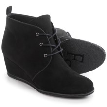 Franco Sarto Annabelle Ankle Boots - Wedge Heel (For Women) in Black - Closeouts