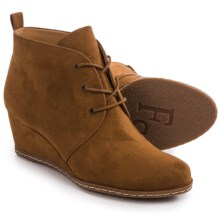 Franco Sarto Annabelle Ankle Boots - Wedge Heel (For Women) in Cognac - Closeouts