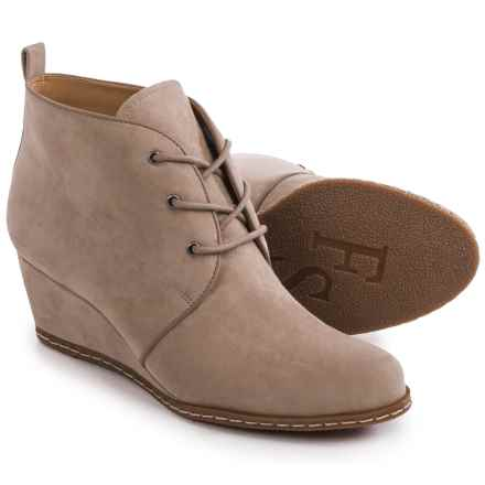 Franco Sarto Annabelle Ankle Boots - Wedge Heel (For Women) in Mushroom - Closeouts