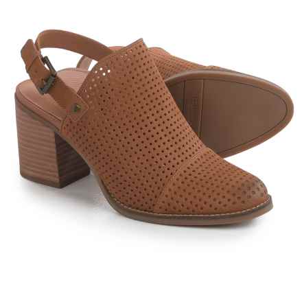Franco Sarto Aubree Shoes - Leather (For Women) in Biscuit - Closeouts
