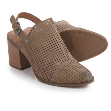 Franco Sarto Aubree Shoes - Leather (For Women) in Mushroom - Closeouts