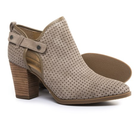 Franco Sarto Dale 2 Booties - Suede (For Women) in Coco
