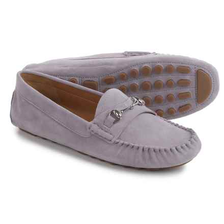 Franco Sarto Galatea Moccasins  - Suede (For Women) in Lilac - Closeouts