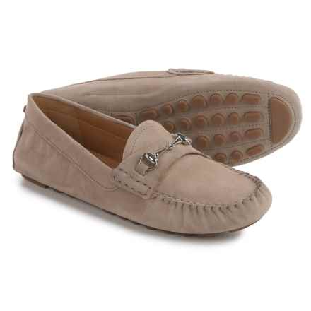 Franco Sarto Galatea Moccasins  - Suede (For Women) in Taupe - Closeouts