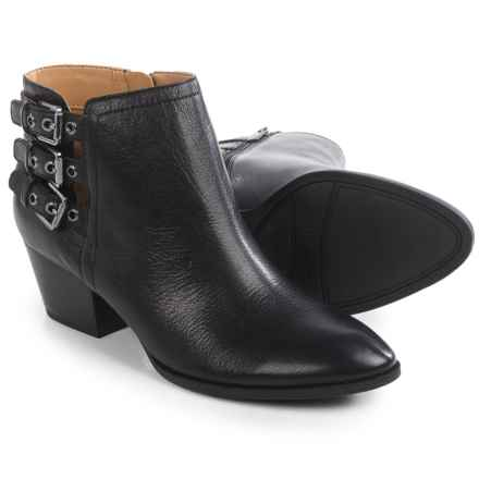 Franco Sarto Geila Ankle Boots - Leather (For Women) in Black - Closeouts
