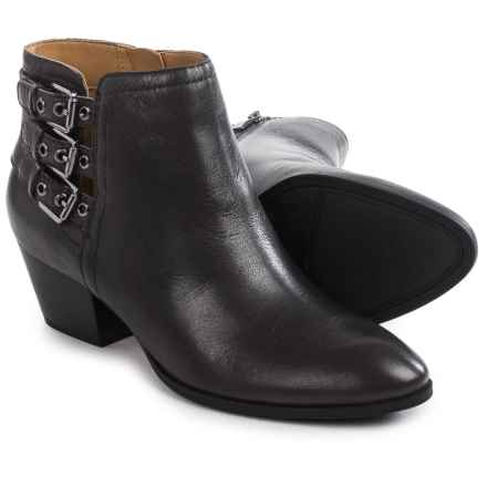 Franco Sarto Geila Ankle Boots - Leather (For Women) in Charcoal - Closeouts