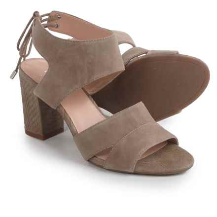 Franco Sarto Gem Sandals - Suede (For Women) in Sandstone - Closeouts