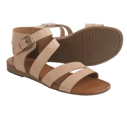 Franco Sarto Genji Sandals - Leather (For Women) in Natural - Closeouts