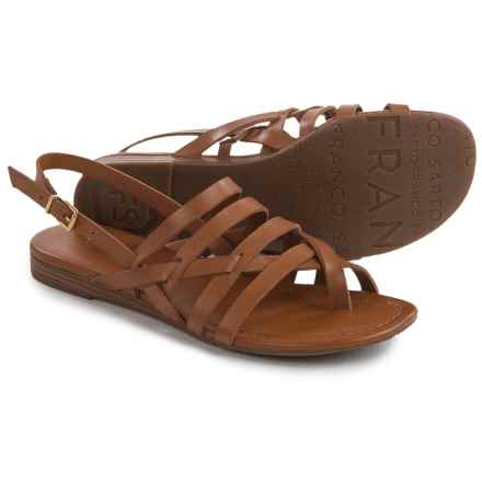 Franco Sarto Gillian Sandals - Vegan Leather (For Women) in Tan - Closeouts