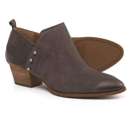 Franco Sarto Graham Booties - Nubuck (For Women) in Peat - Closeouts