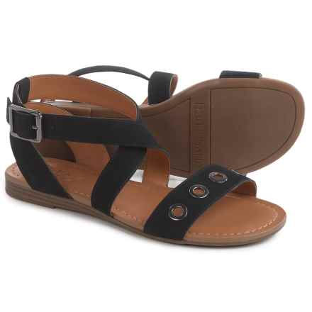 Franco Sarto Grand Gladiator Sandals (For Women) in Black - Closeouts