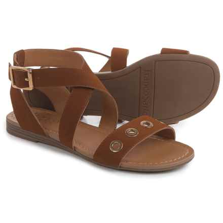 Franco Sarto Grand Gladiator Sandals (For Women) in Whiskey - Closeouts
