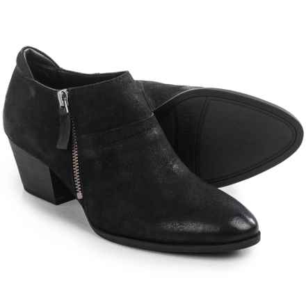 Franco Sarto Greco Ankle Boots - Leather (For Women) in Black - Closeouts