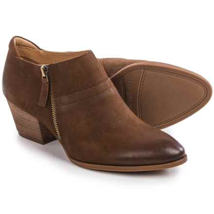 Franco Sarto Greco Ankle Boots - Leather (For Women) in Tan - Closeouts