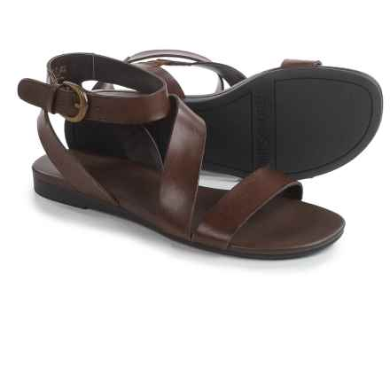 Franco Sarto Gustar Sandals - Leather (For Women) in Brown - Closeouts
