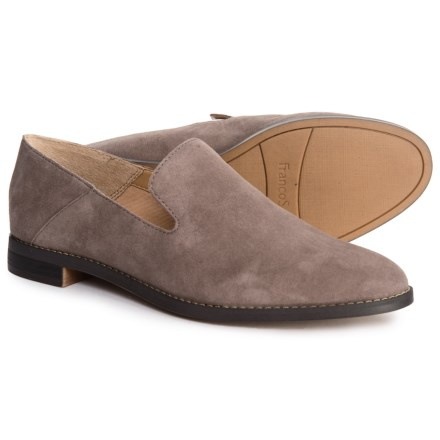 4e202b0e4d3 Franco Sarto Haylee Loafers - Suede (For Women) in Iron - Closeouts
