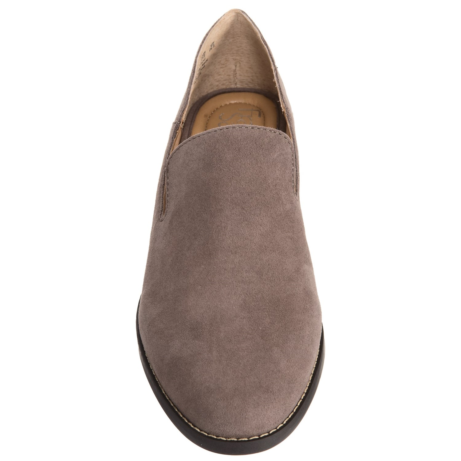 bf0353e9e00 Franco sarto haylee loafers suede for women a jpg 1500x1500 Grey franco  sarto loafers