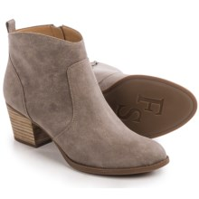 Franco Sarto Huette Ankle Boots - Leather (For Women) in Doe - Closeouts