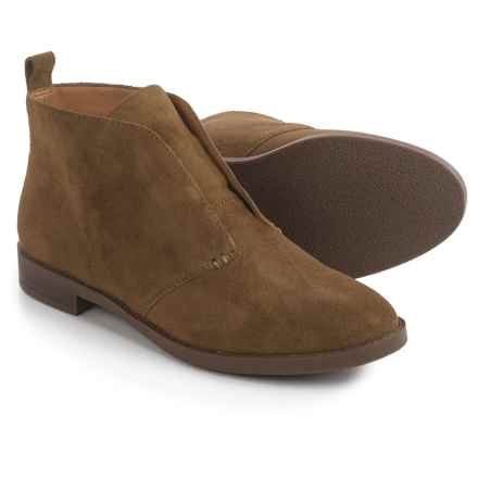 Franco Sarto Ilena Chukka Boots - Suede (For Women) in Desert Khaki Suede - Closeouts