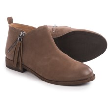 Franco Sarto Kaime Ankle Boots - Suede (For Women) in Tobacco - Closeouts