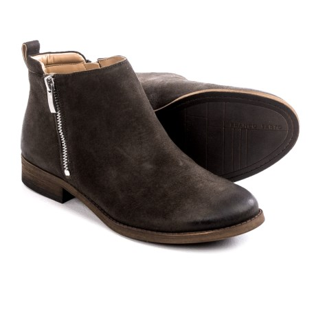 Franco Sarto Keegan Ankle Boots - Side Zip (For Women)