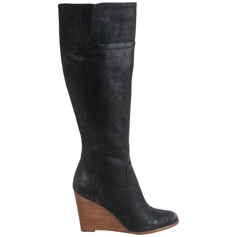 franco sarto lara wedge boots for save 80