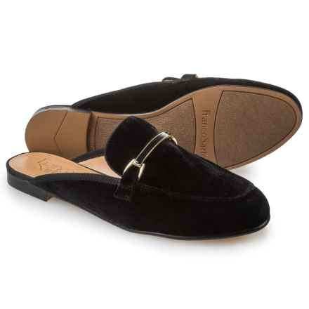 Franco Sarto Pippa Mule Shoes (For Women) in Black Velvet - Closeouts