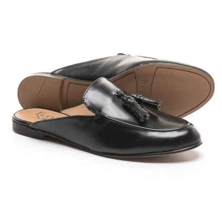 Franco Sarto Prentice Mule Shoes (For Women) in Black Nappa - Closeouts